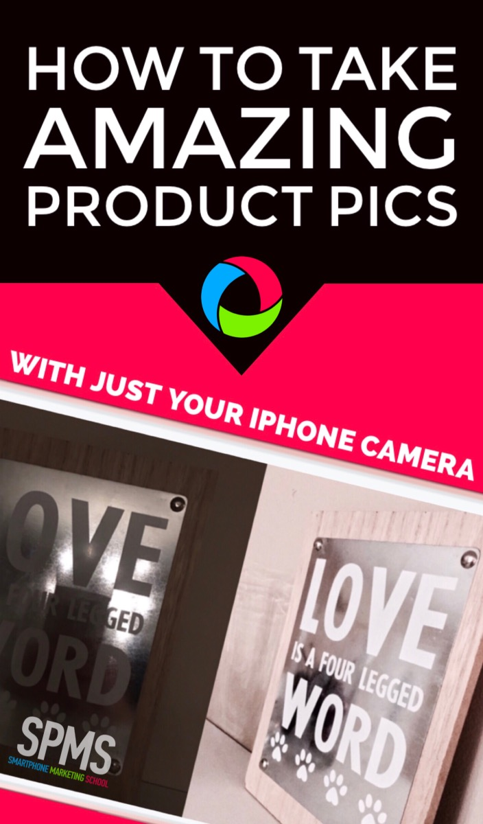 Take Amazing Product Photos With Just The iOS iPhone Camera