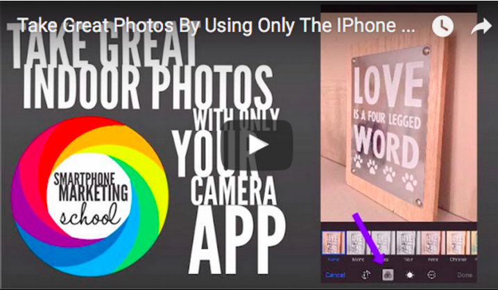 Take great product photos with just the iOS camera app on your iPhone
