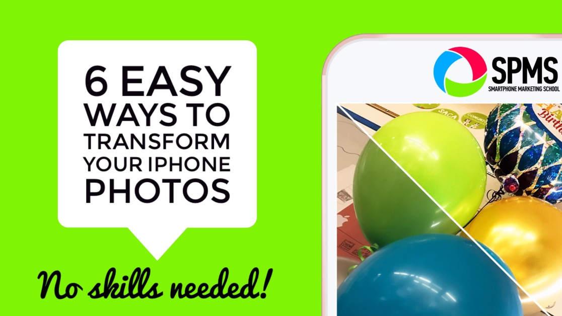 Six easy ways to transform your iPhone photos