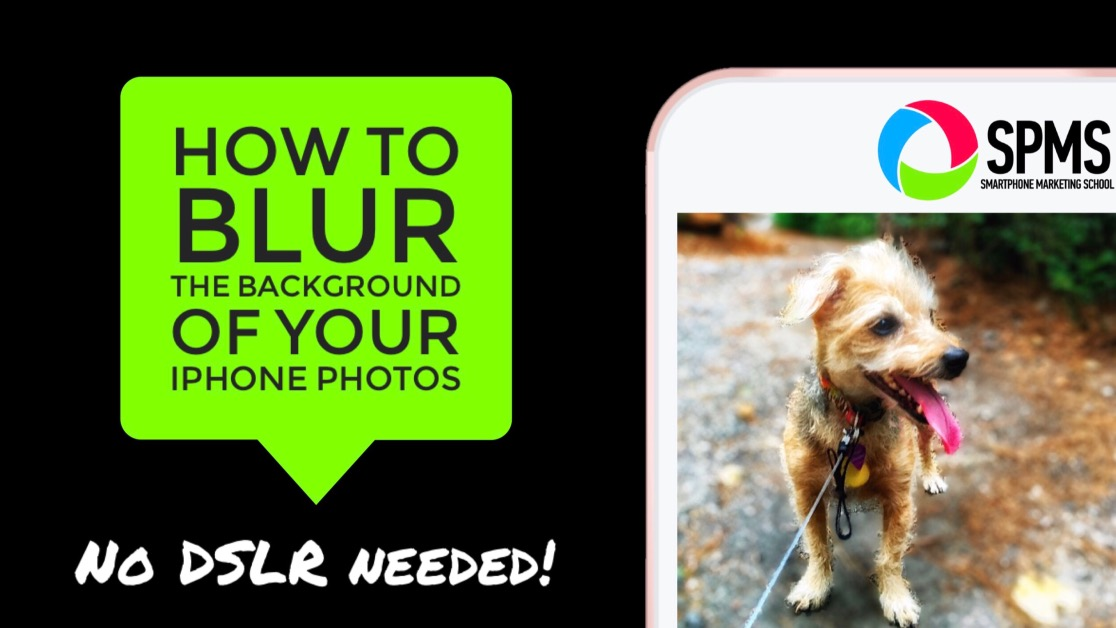 How to Blur the Background of Your iPhone Photos