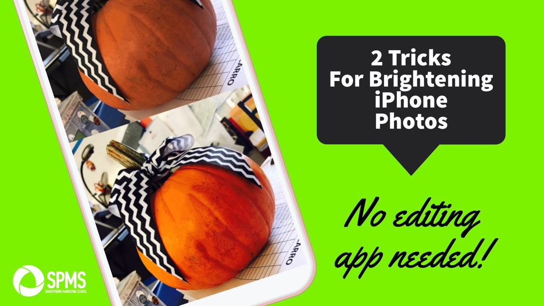 2 Tricks To Brighten Photos With Just The iPhone Photos App Editor