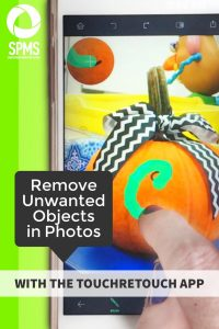 Remove object in photo in your iPhone with the TouchRetouch app