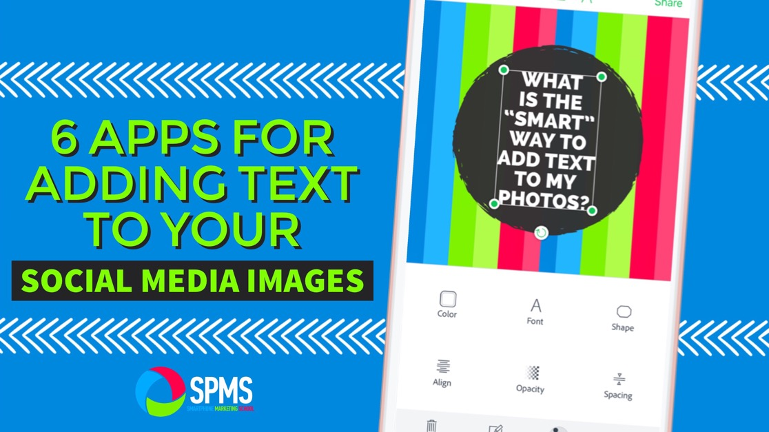 6 Great Apps For Adding Text To Images For Social Media
