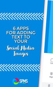 Best apps for adding text to images for social media designs