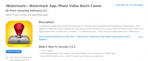 Quickest App To Watermark Photos And Videos On iPhone