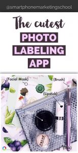 The Cutest iPhone Photo Label App EVER!!!