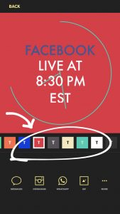 How To Make An Easy Facebook Live Promo Graphic