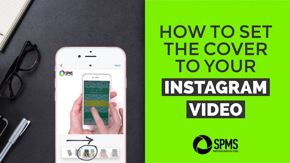 How to set the cover to your Instagram video