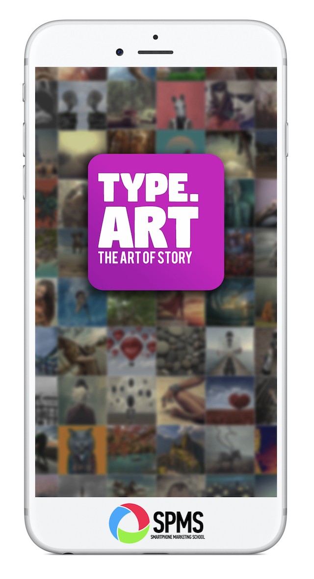 Type Art Animated Text App for Stories