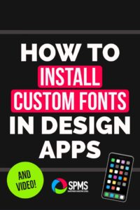 How to Install Custom Fonts To Design Apps